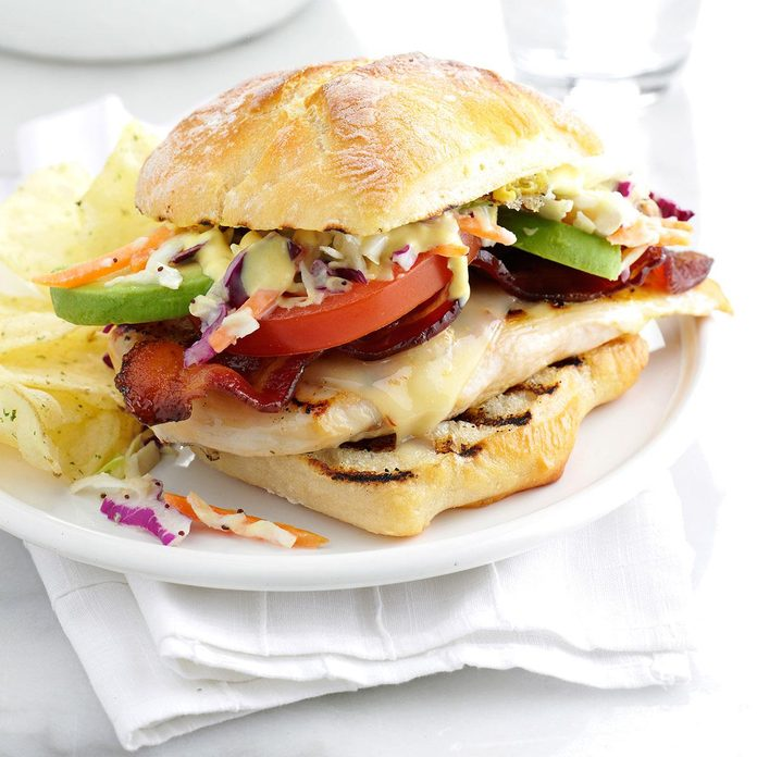 Inspired By: Grilled Chicken Club