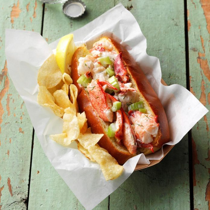 Maine: Lobster Rolls