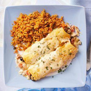 Lone Star Chicken Enchiladas