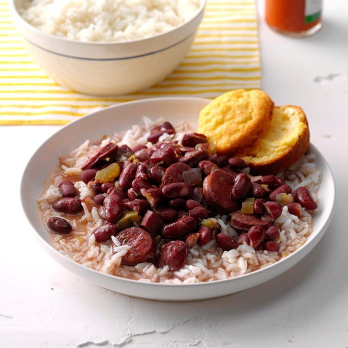 Mississippi: Lora's Red Beans & Rice