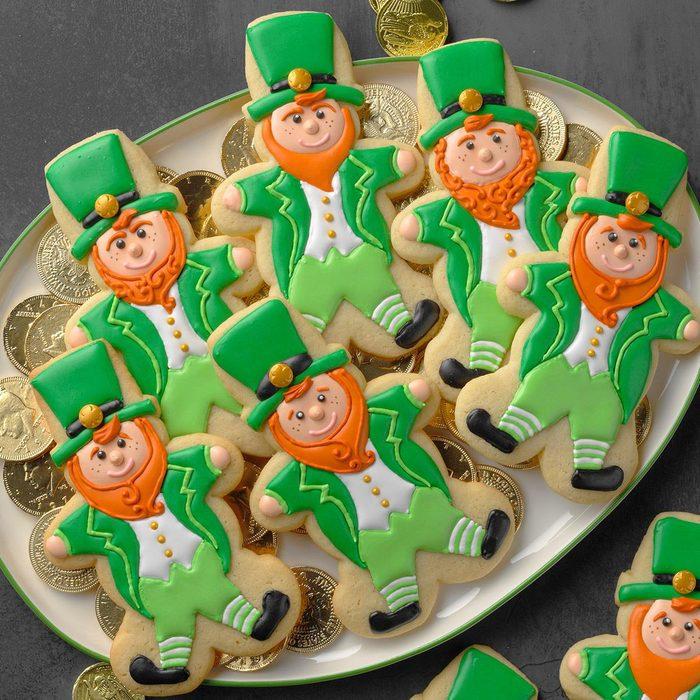 Lucky Leprechaun Cookies