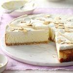 Luscious Almond Cheesecake