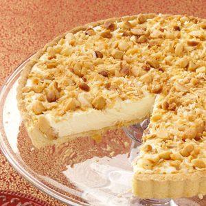 Macadamia Coconut Cream Tart