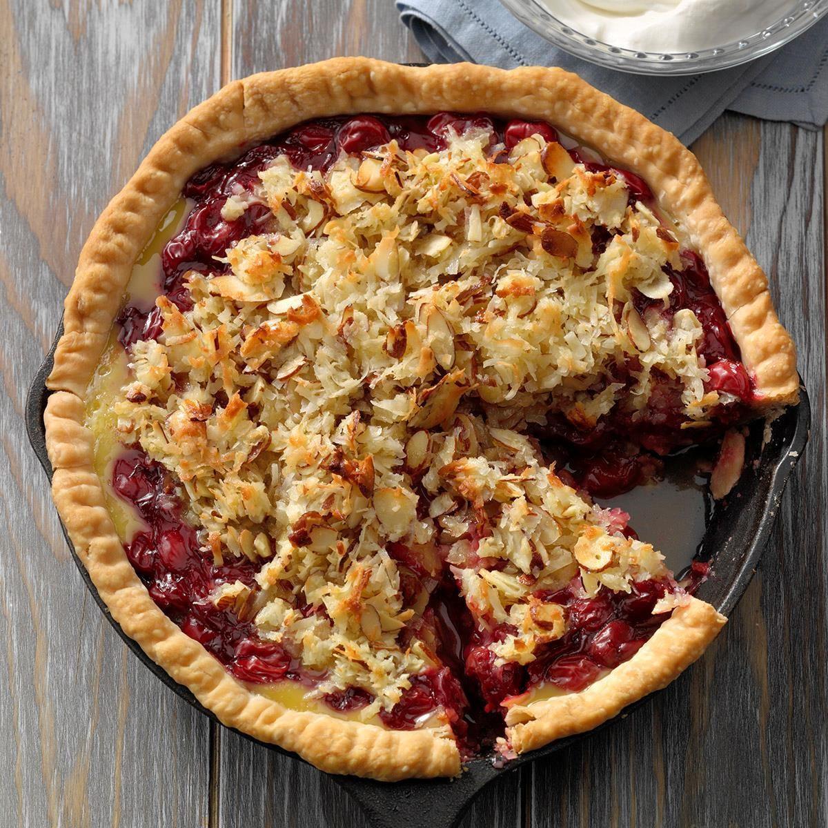 Utah: Christmas Cherry Pie