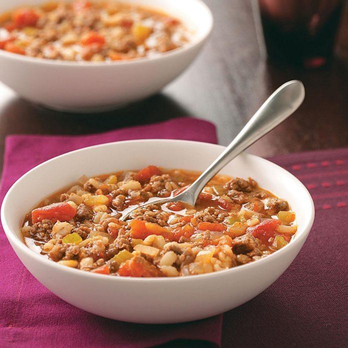 Make-Ahead Beef Barley Soup