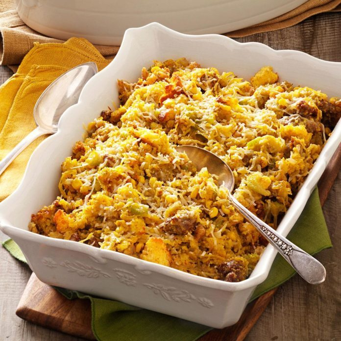 Make-Ahead Cornbread Dressing