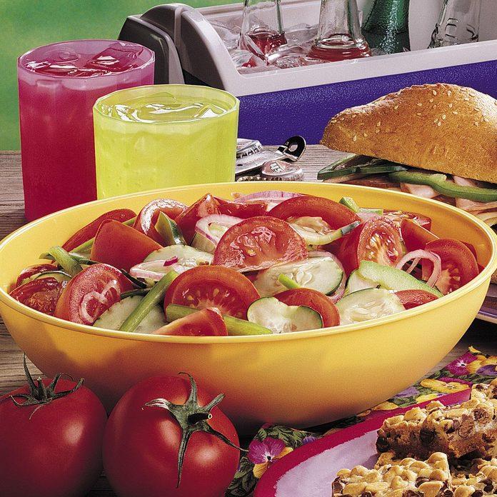 Make-Ahead Veggie Salad