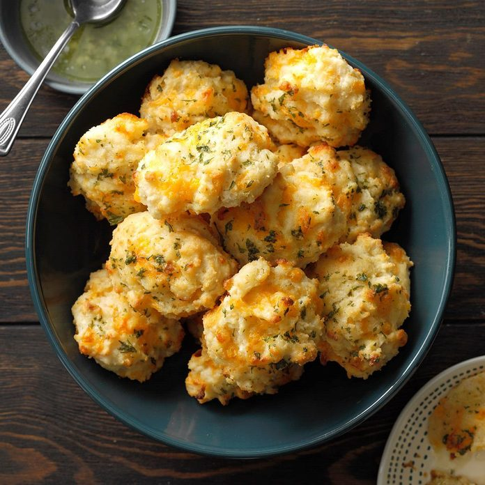 Spreads & Breads: Makeover Cheddar Biscuits