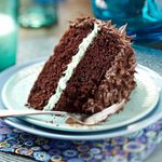 Makeover Chocolate Mint Layer Cake