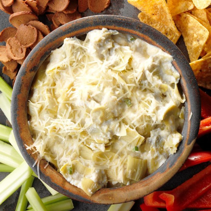 Inspired by: Old Chicago's Artichoke Dip