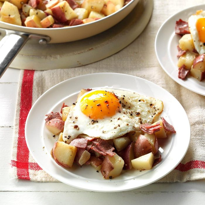 Makeover Hash and Eggs