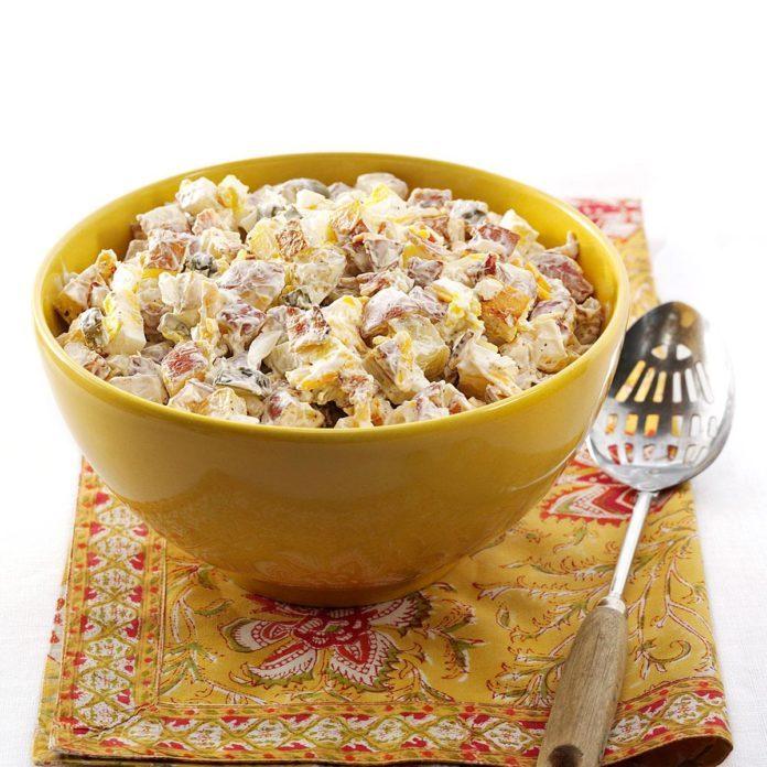 Makeover Loaded Baked Potato Salad