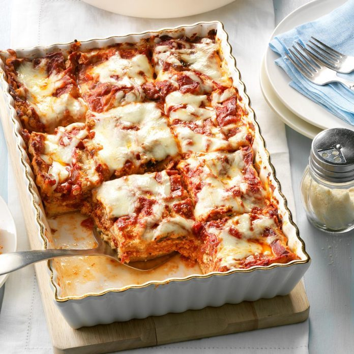 Makeover Meatless Lasagna