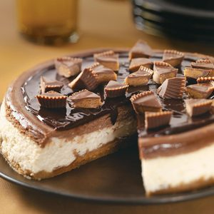 Makeover Peanut Butter Cup Cheesecake