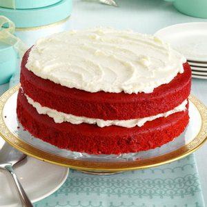 Makeover Red Velvet Cake