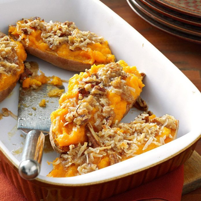 Arkansas: Makeover Streusel-Topped Sweet Potatoes