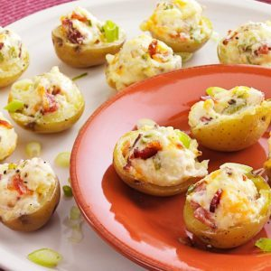 Makeover Stuffed Potato Appetizers