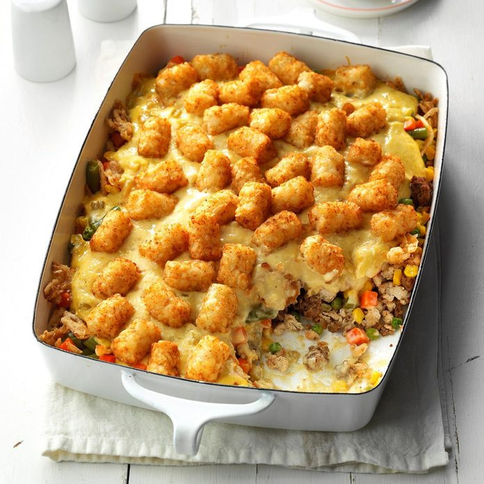 Makeover Tater-Topped Casserole