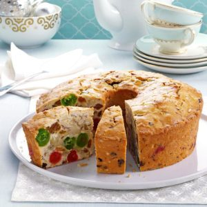Makeover White Fruitcake