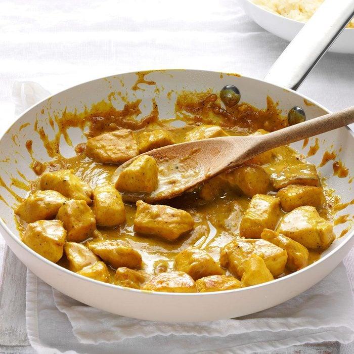 Mango Chutney Chicken Curry