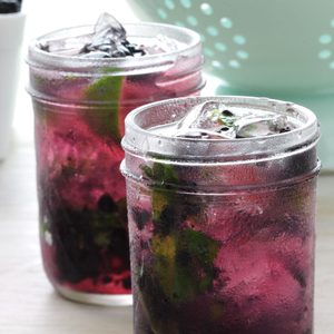 Maple Blackberry Mojito