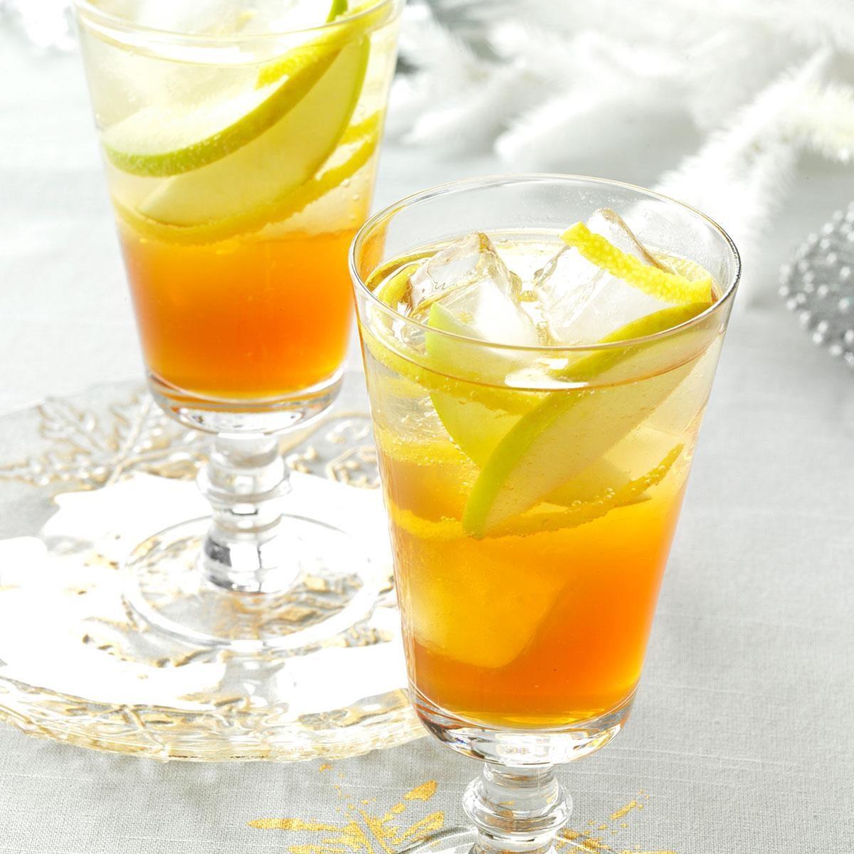Maple Brandy Punch