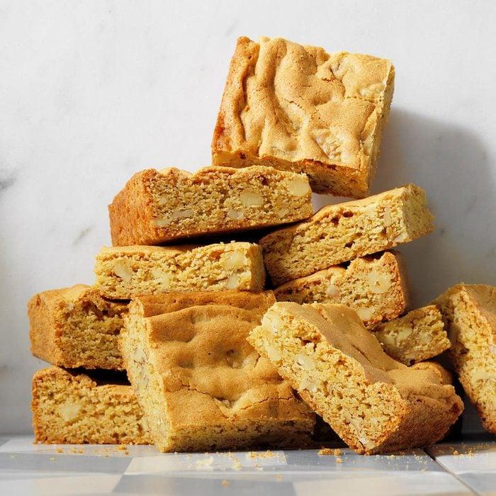 Maple Butterscotch Brownies