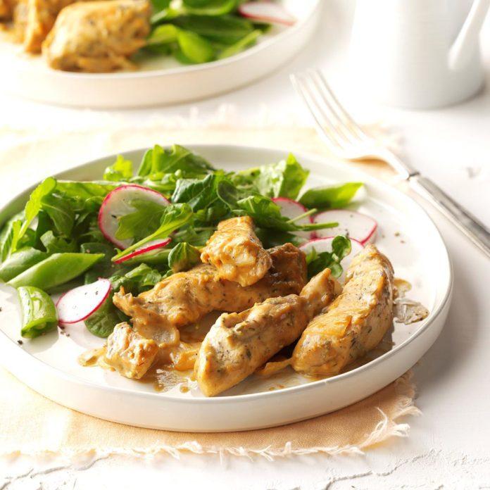 Maple-Dijon Chicken