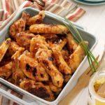 Maple-Glazed Chicken Wings