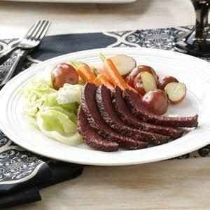 Maple-Glazed Corned Beef