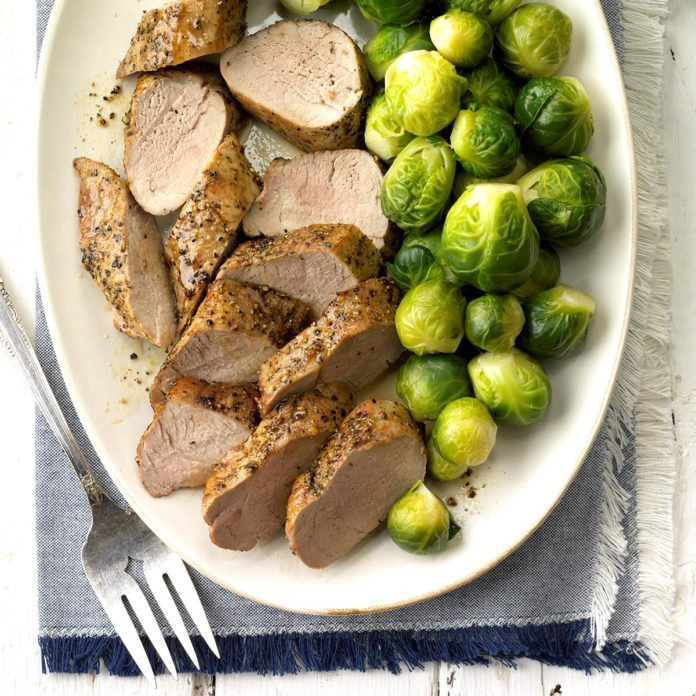 Day 11: Maple-Glazed Pork Tenderloin