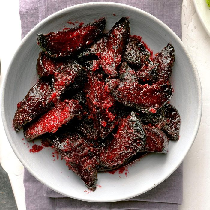 Maple Horseradish Beets