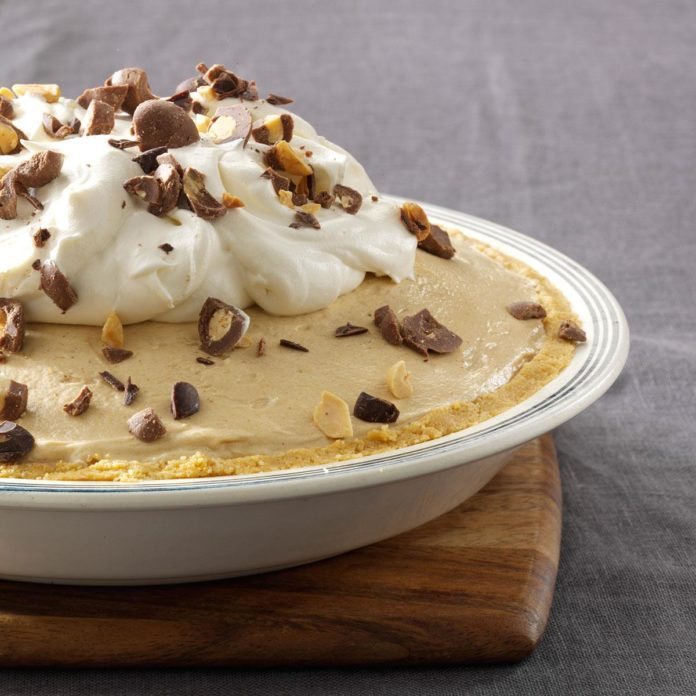 Maple Peanut Butter Pie