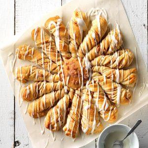 Maple Twist Coffee Cake