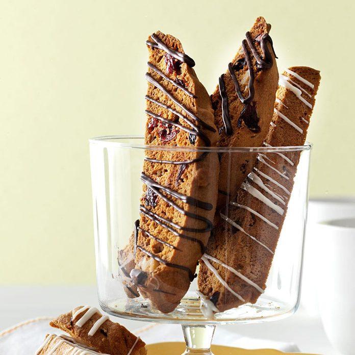 Maple Walnut Biscotti
