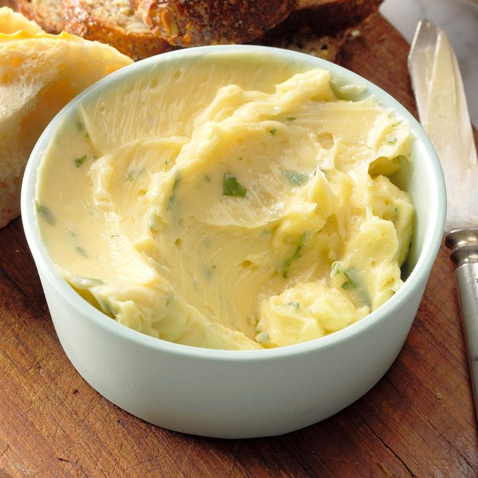 Maple and Parsley Butter