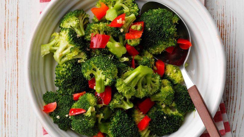Marinated Broccoli