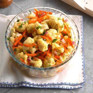 Marinated Cauliflower Salad