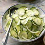 Marinated Cucumbers