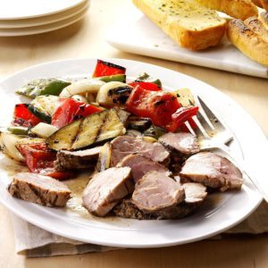 Marinated Pork Mixed Grill