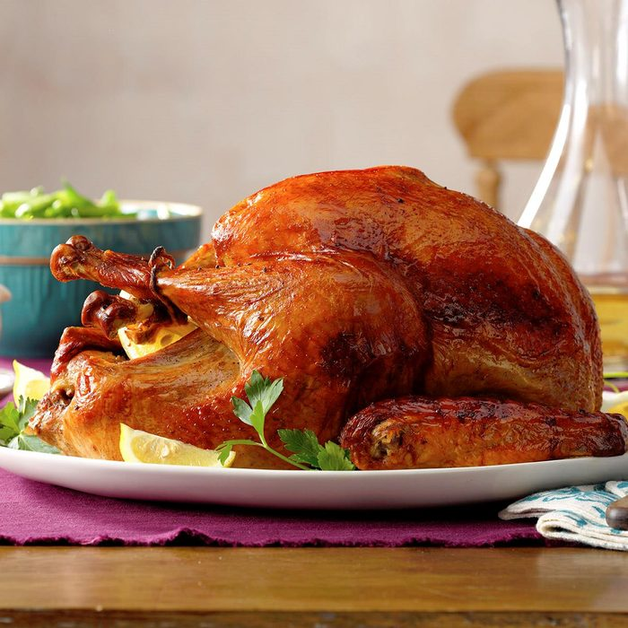 thanksgiving turkey recipes - Marinated Thanksgiving Turkey