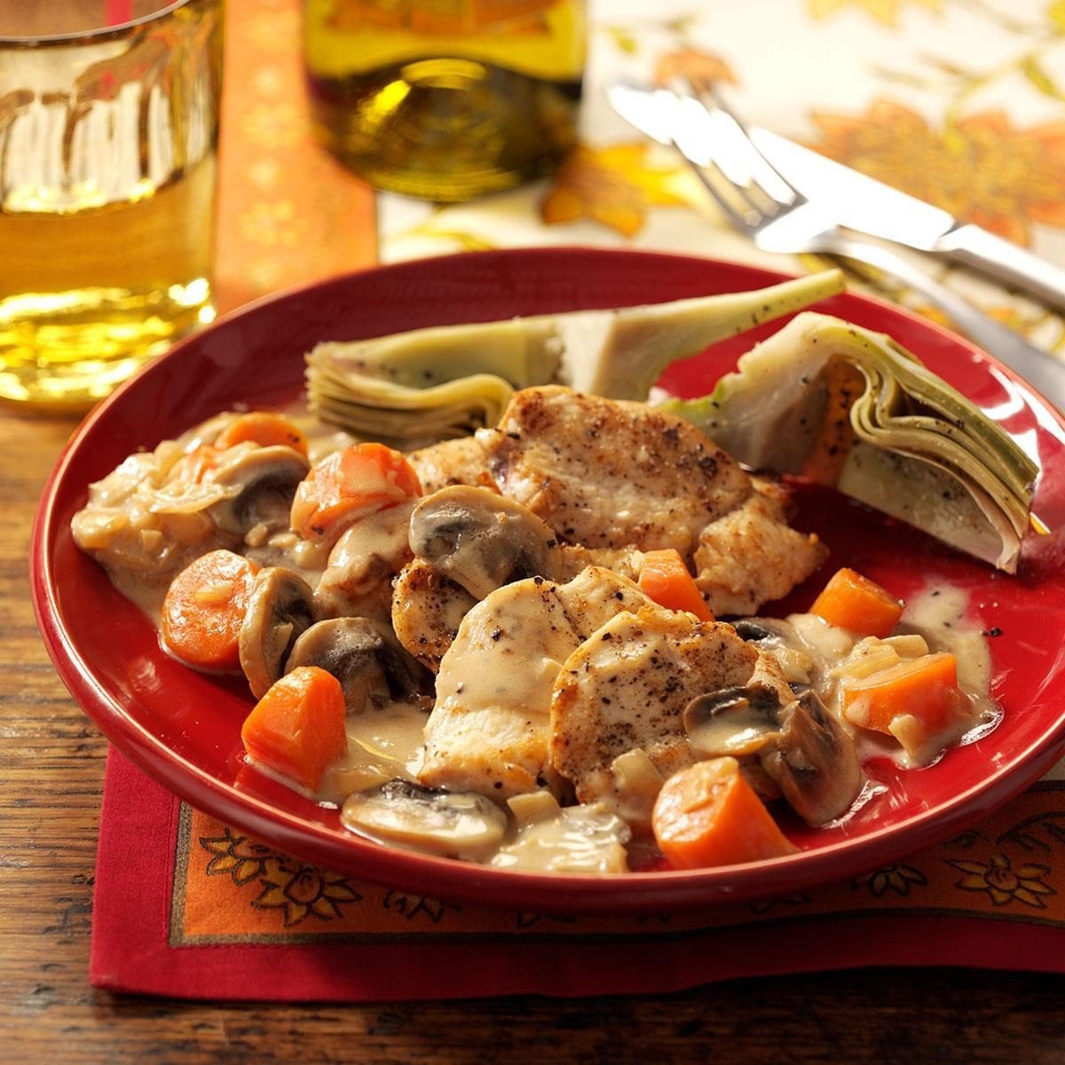 Marsala Chicken & Mushrooms