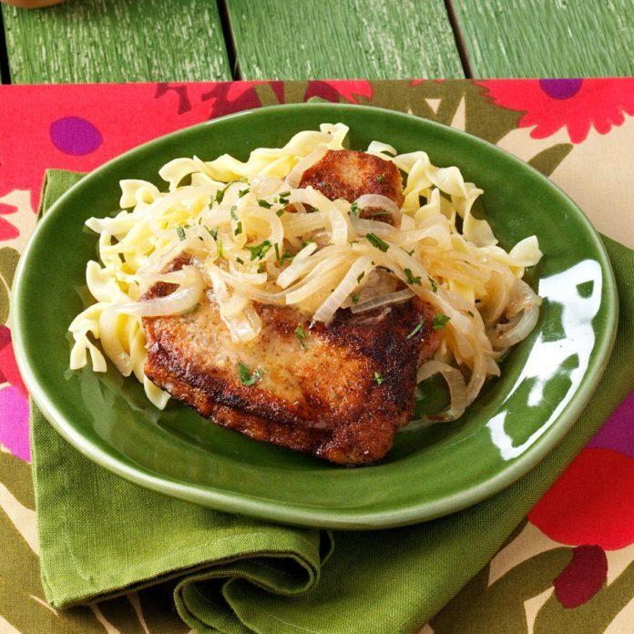 Marsala Pork Chops
