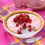 Marshmallow Raspberry Pie