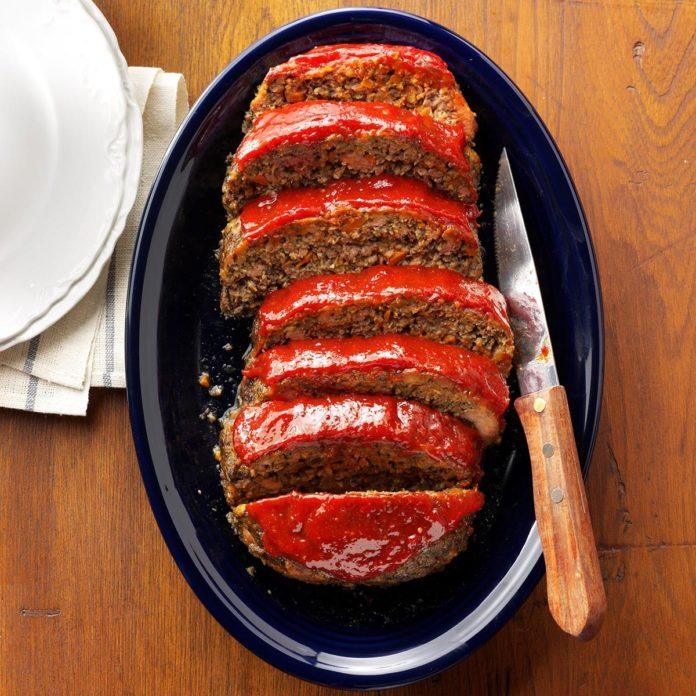 Winter: Matthew's Best Ever Meat Loaf