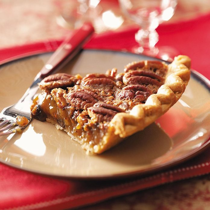 Mayan Chocolate Pecan Pie