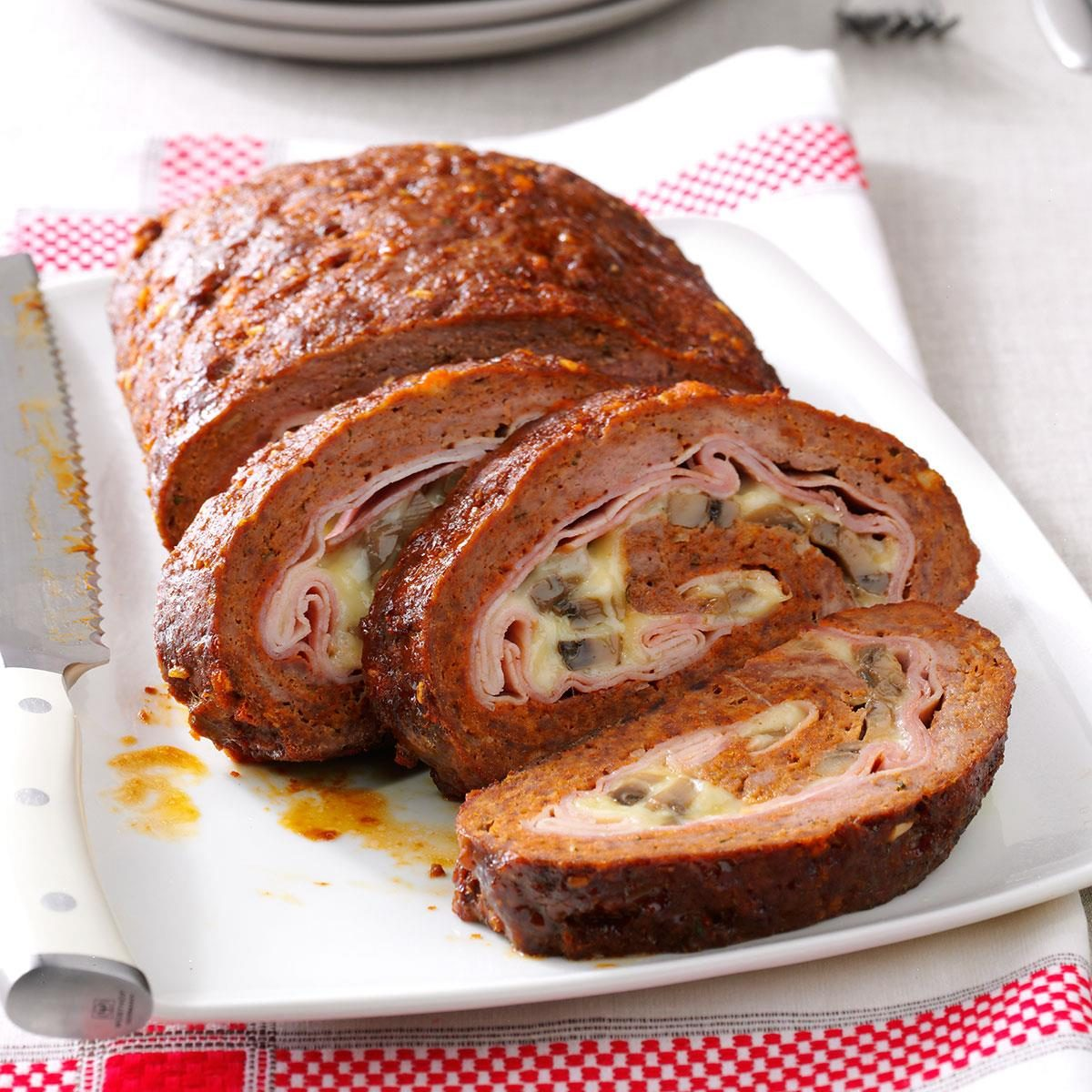 Meat Loaf Cordon Bleu