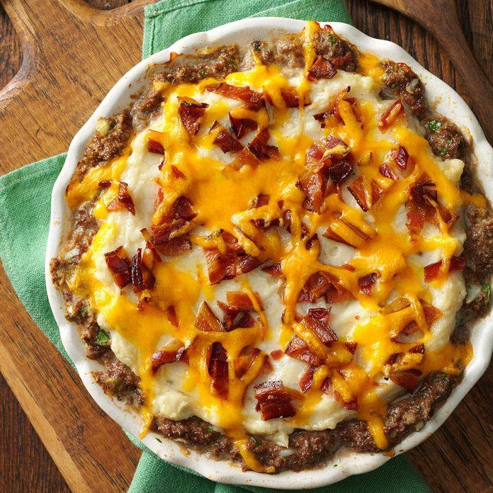 Make: Meat Shell Potato Pie