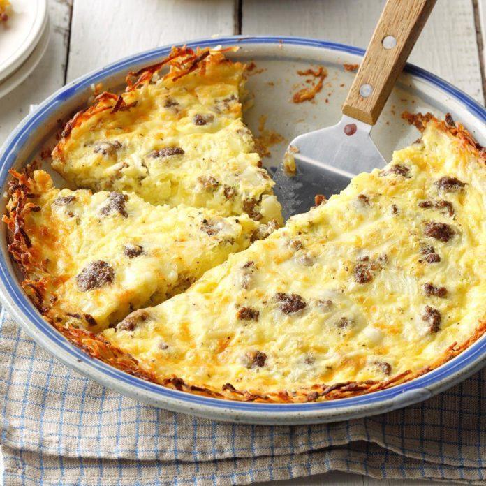 Meat-and-Potato Quiche