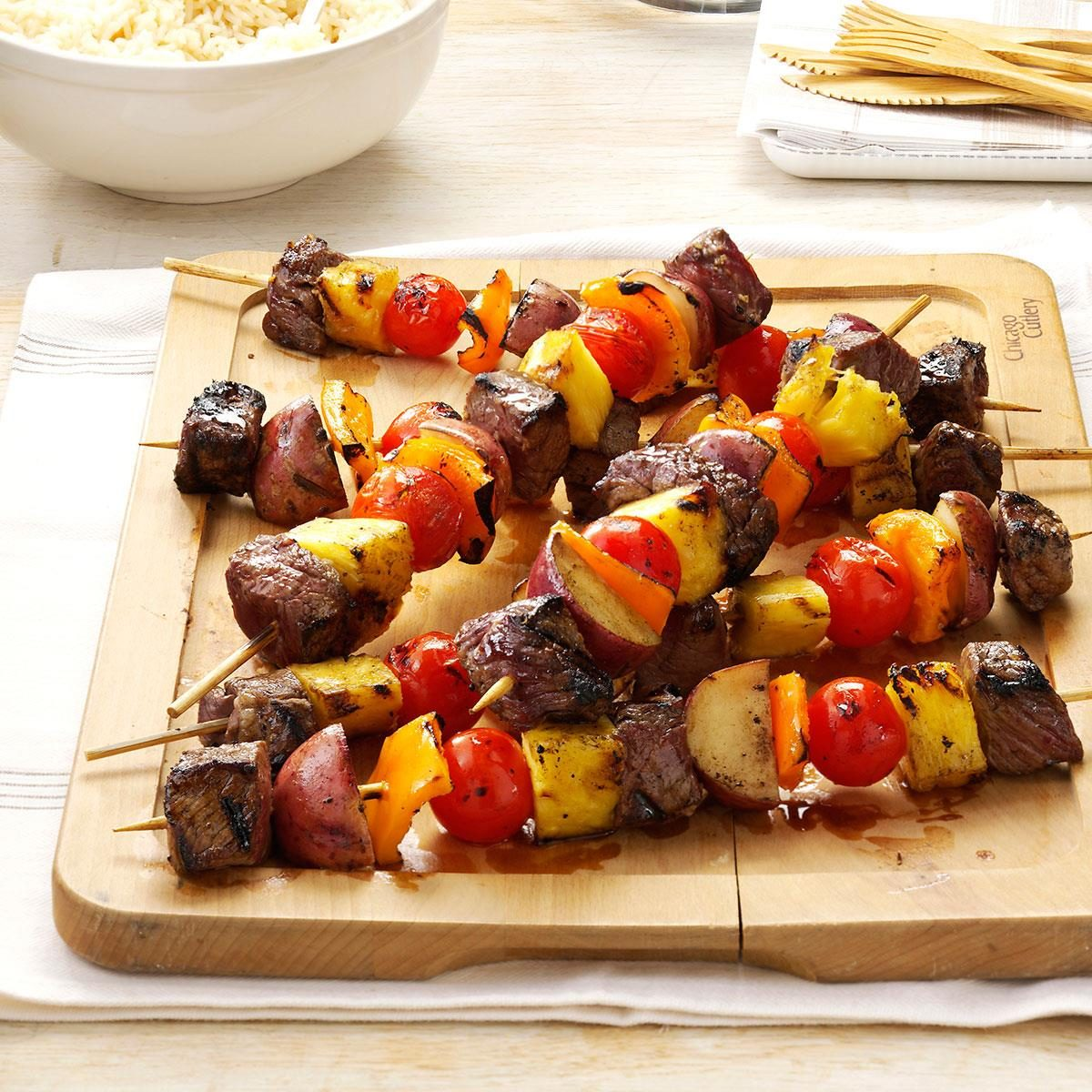 Meat 'n' Potato Kabobs